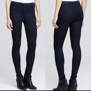 Rag & Bone   Skinny Legging Jean in Indigo Blue